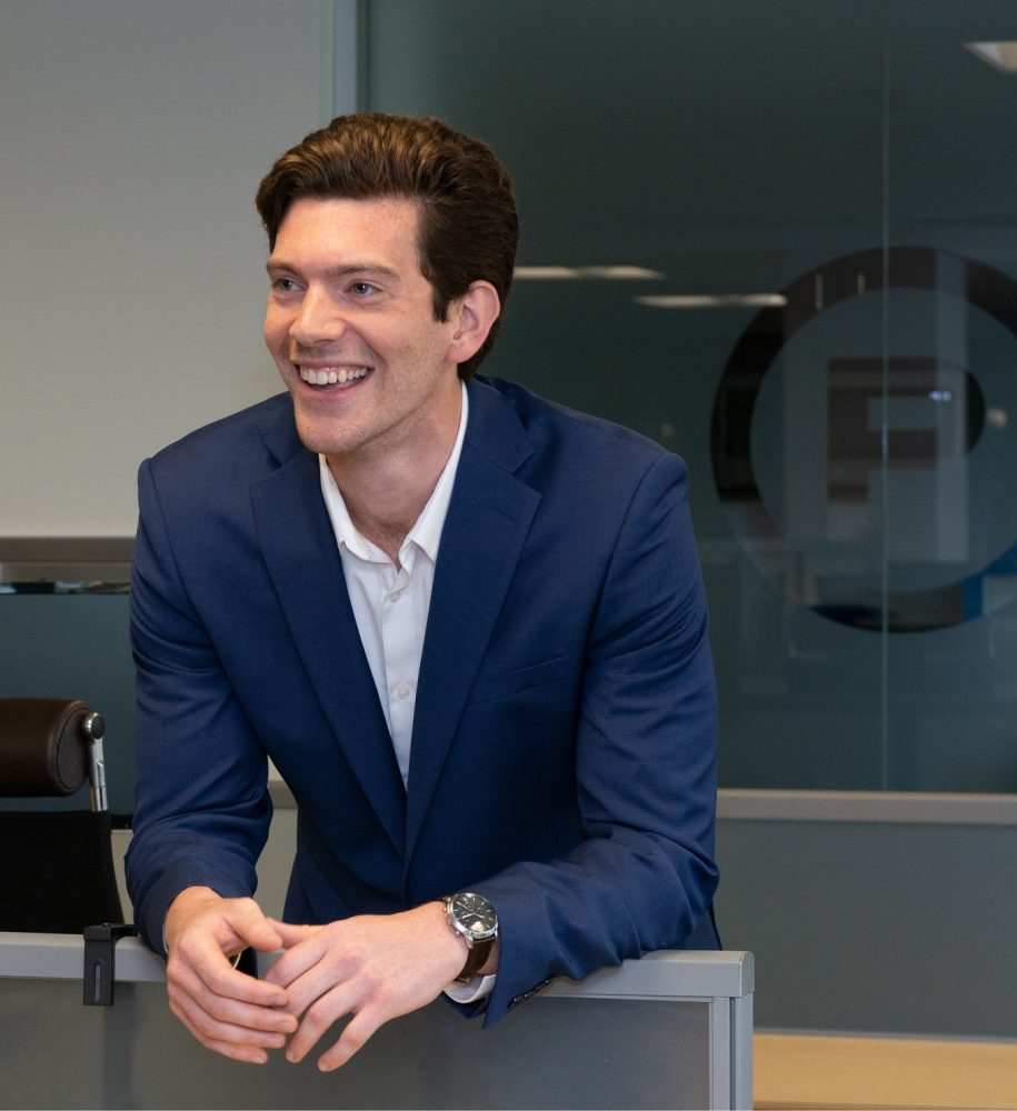 Photo of Nate Haskell, Client Manager of Columbia Pacific Wealth Management in Seattle